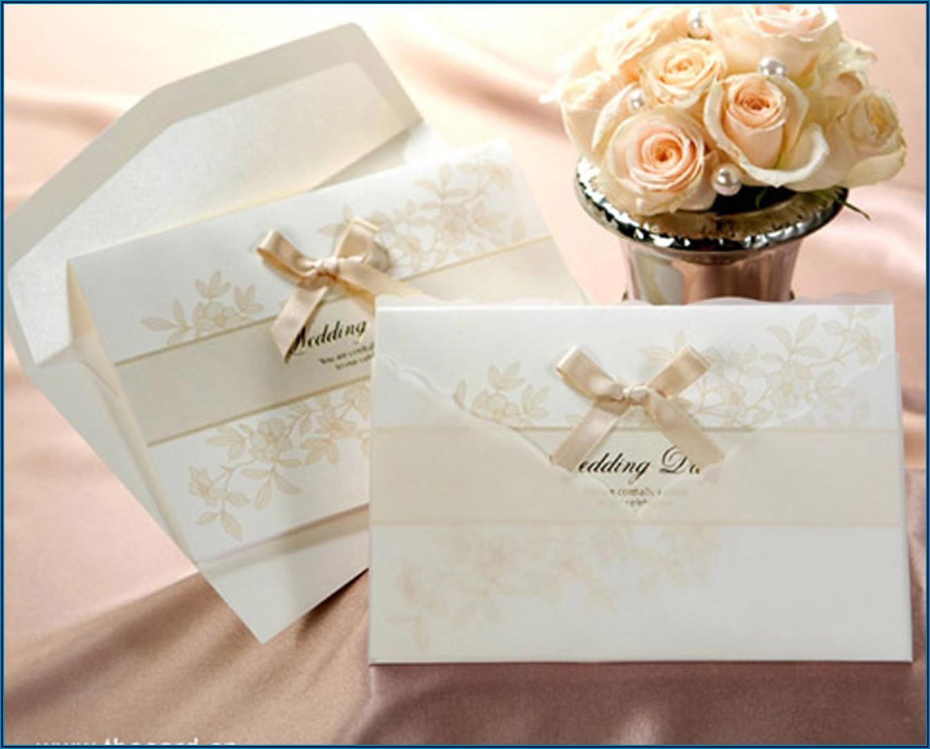 Wedding Invitation Cards Designs India