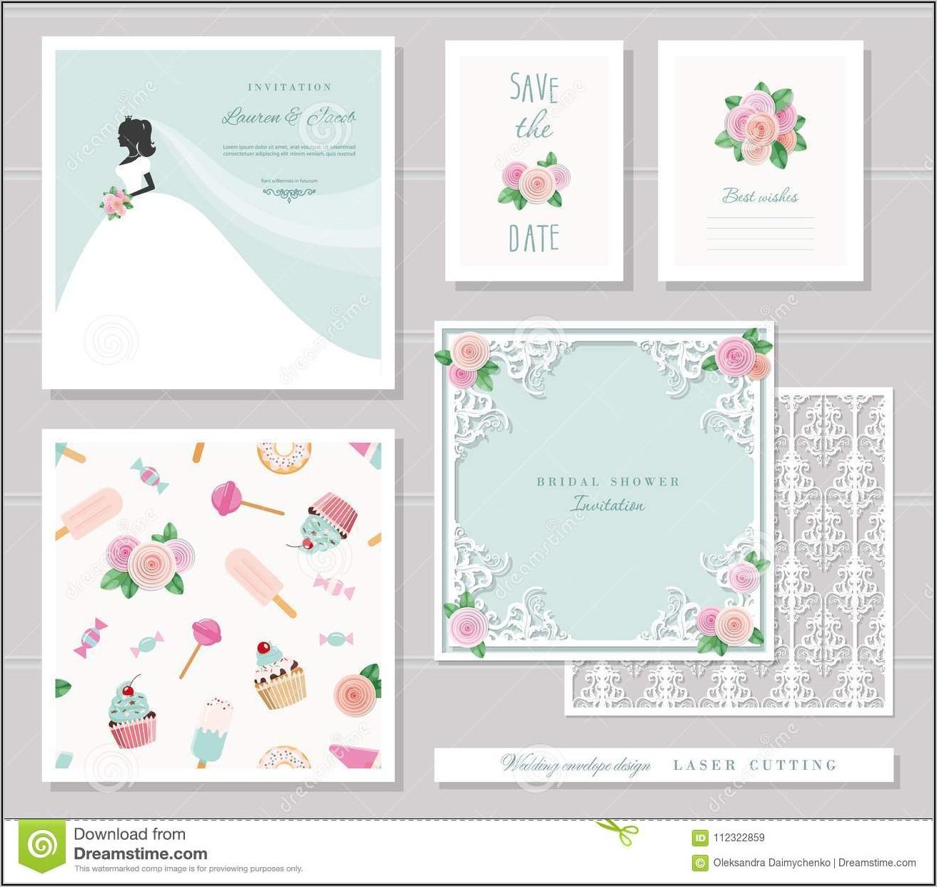 Wedding Invitation Envelope Design Templates