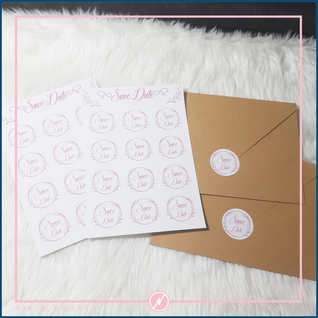 Wedding Invitation Envelope Seal Stickers