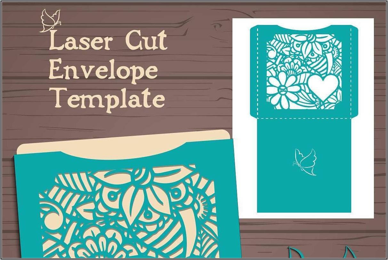 Wedding Invitation Envelope Template Word