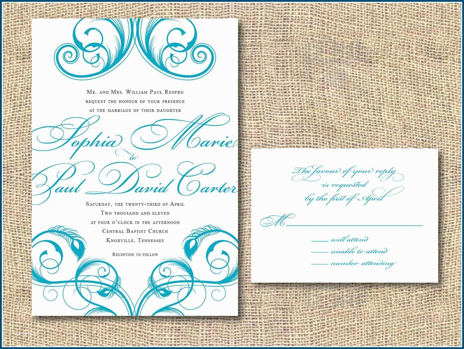 Wedding Invitation Kits Hobby Lobby