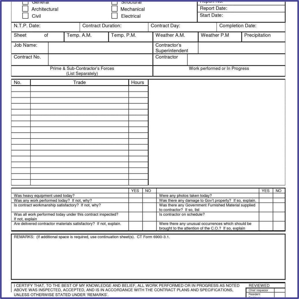 Welding Visual Inspection Report Sample