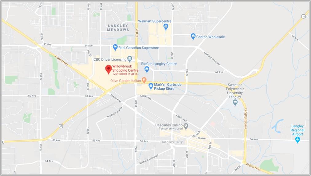Willowbrook Mall Map Langley