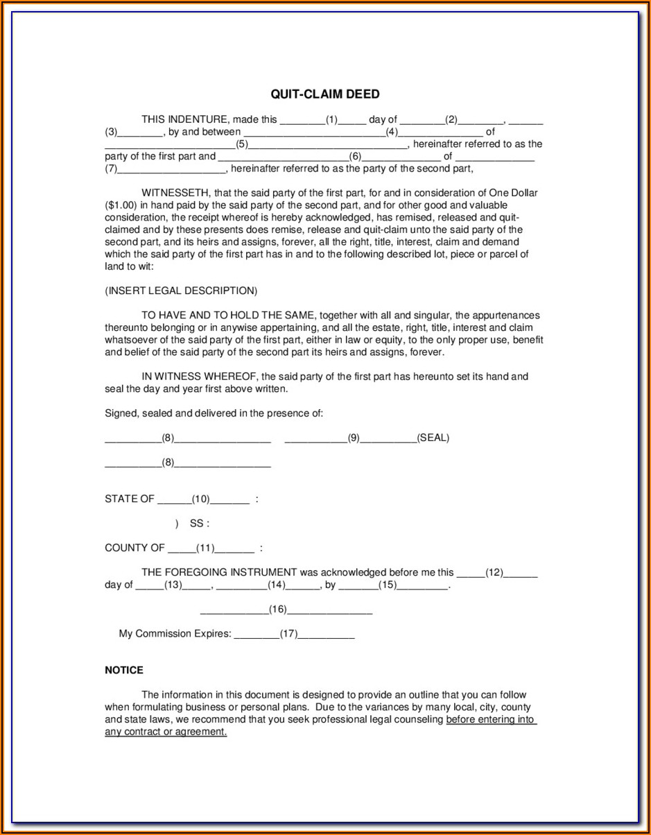30 Day Notice To Quit Form Massachusetts