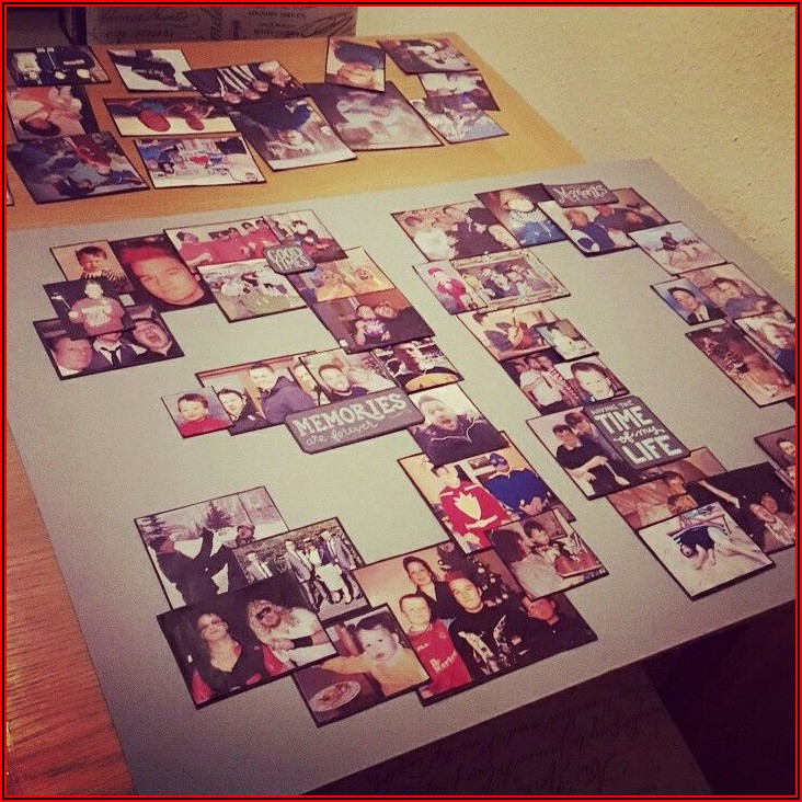 30th Birthday Photo Collage Template
