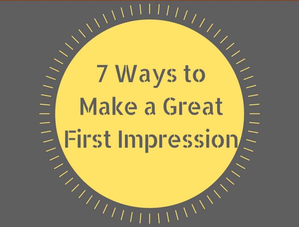 7 Ways To Make A Lasting First Impression On Facebook