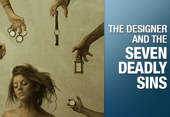The Seven Deadly Sins Of Bad Graphic Design What You Don't Know Can Hurt Your Business!