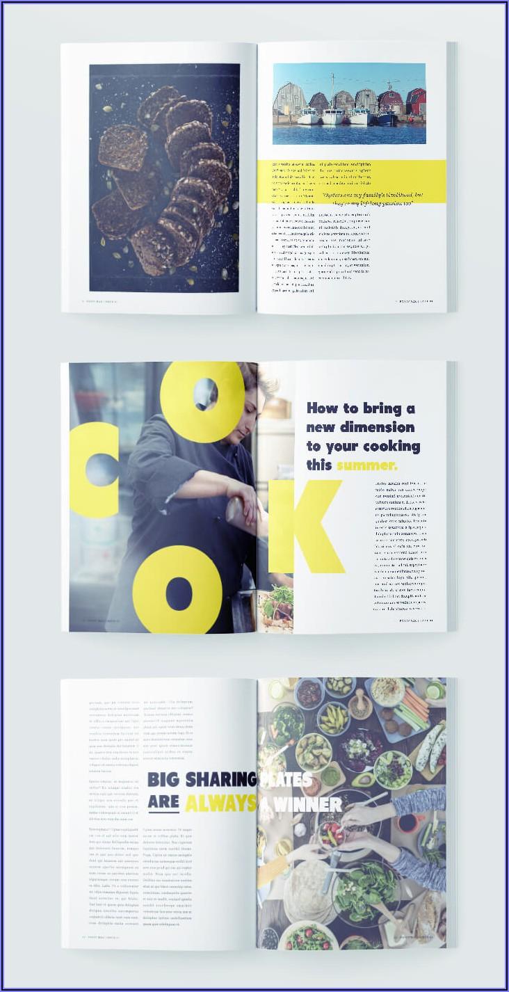 Adobe Indesign Magazine Templates Free Download