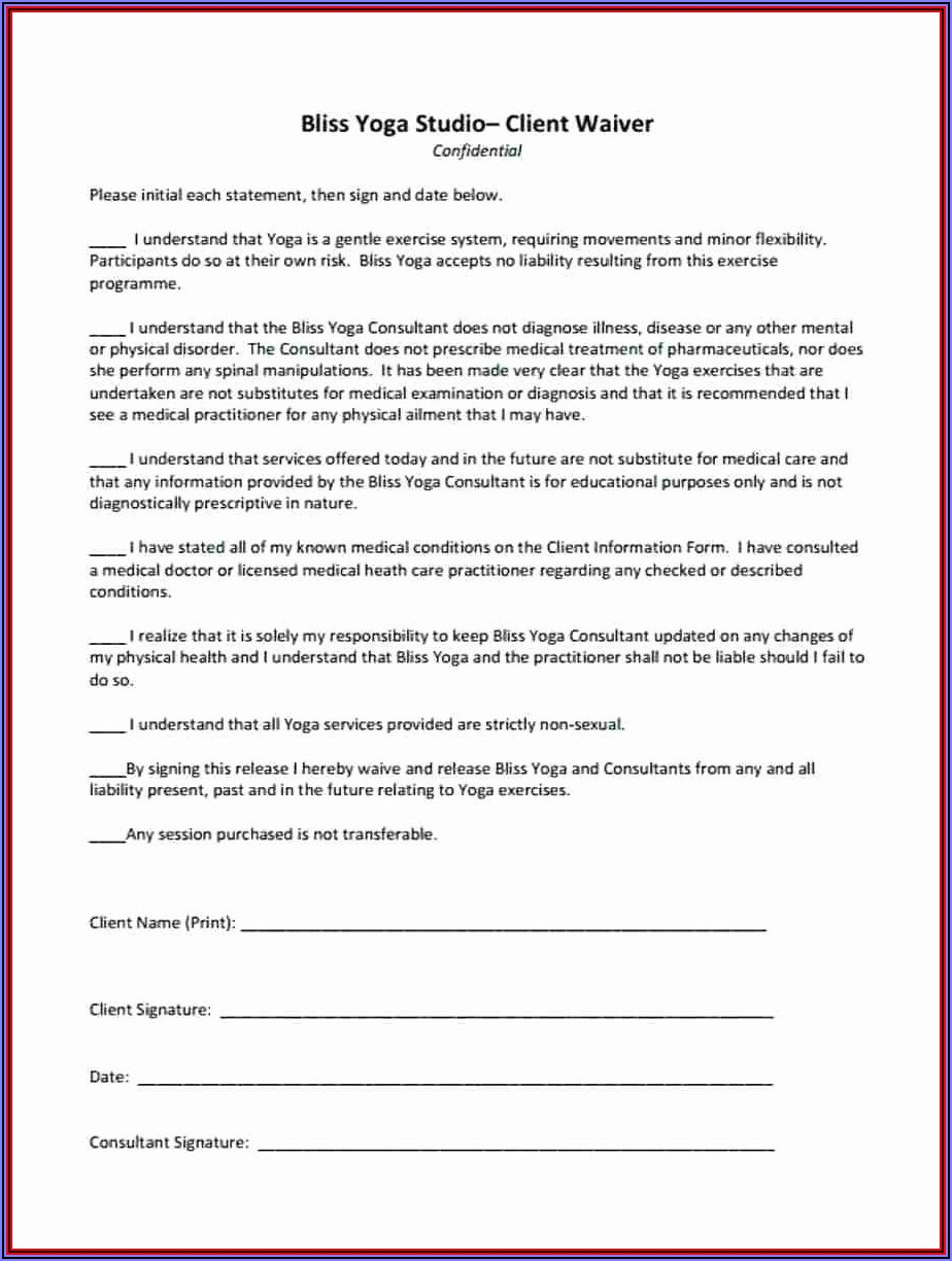 Anthem Medicare Waiver Of Liability Form
