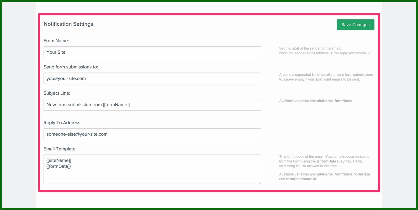Auto Reply Email Template