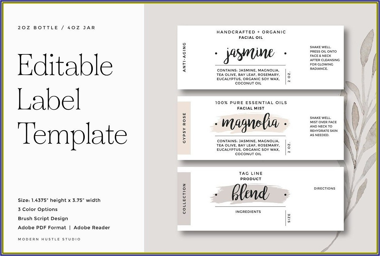 Avery Labels Printing Template E3613