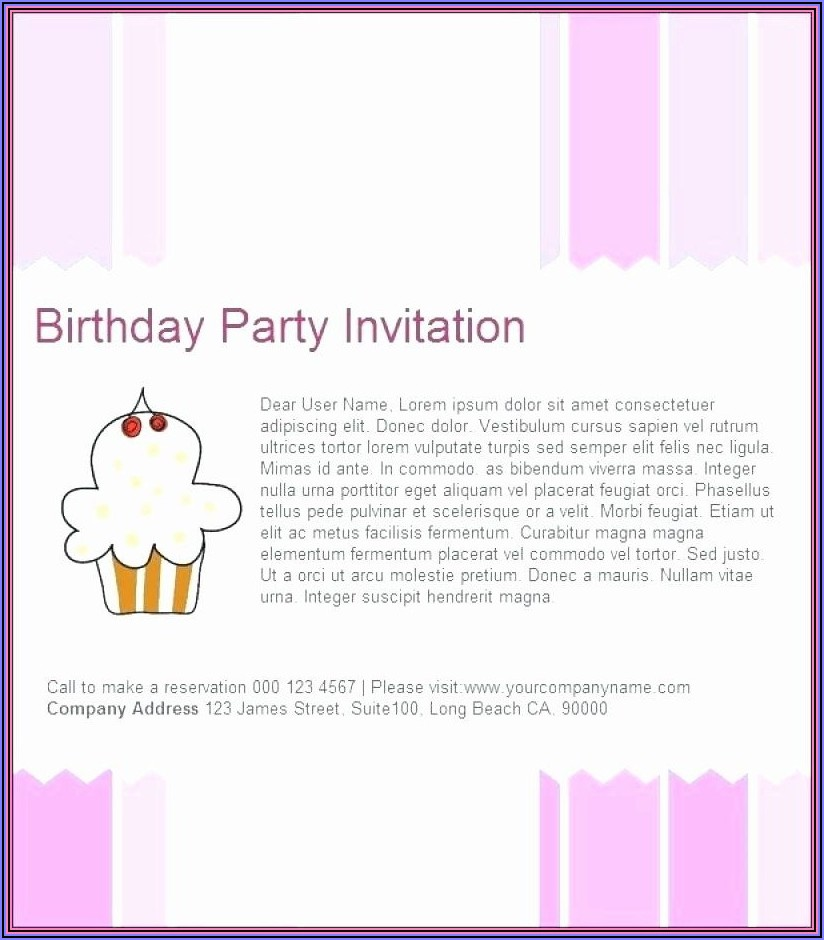 Birthday Card Email Templates Free