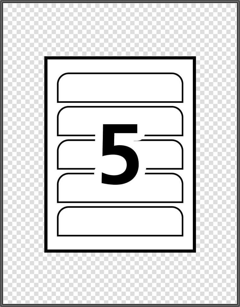 Blick Printer Label Template