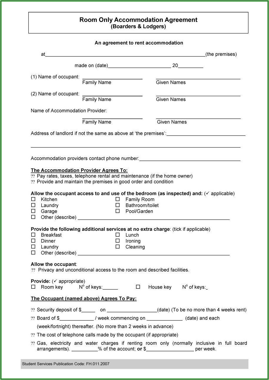 California Residential Lease Agreement Doc