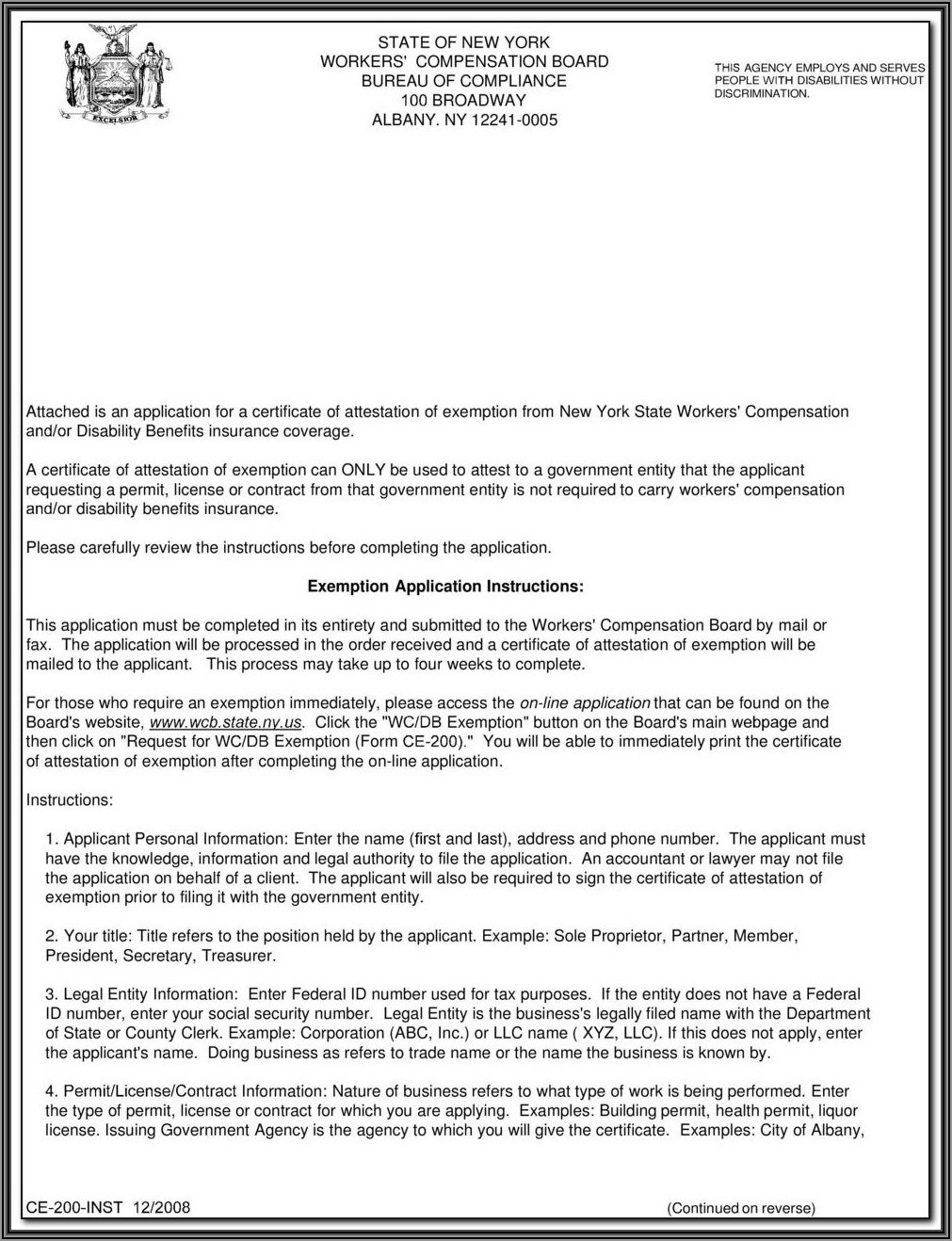 California Workers Compensation Waiver Of Subrogation Form
