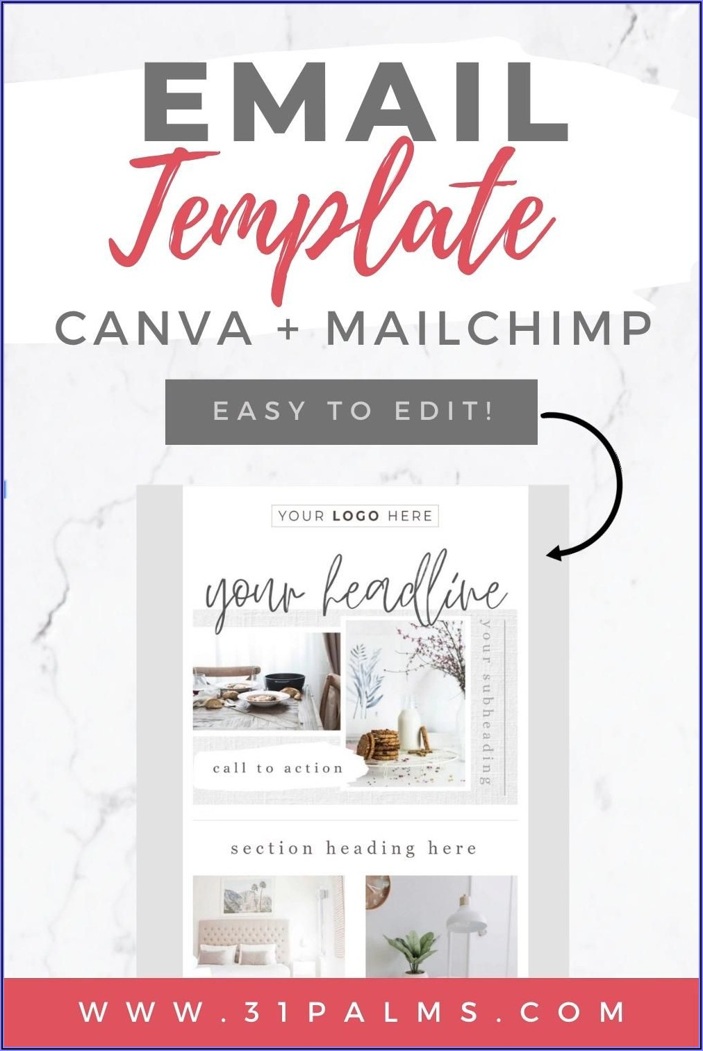 Canva Template For Mailchimp