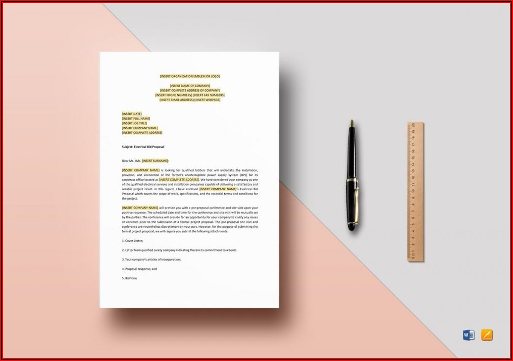 Cleaning Business Proposal Template Doc