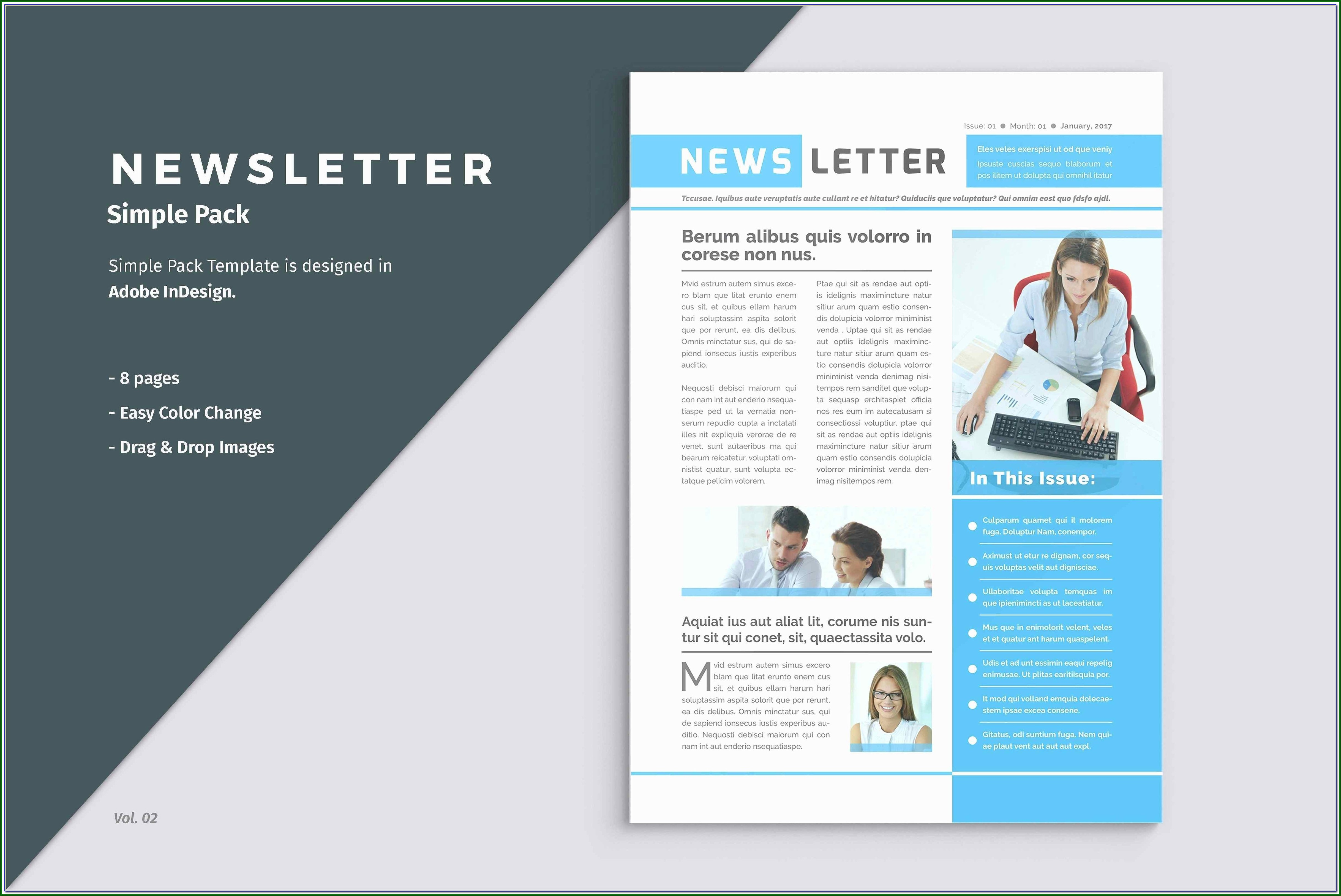 Constant Contact Newsletter Templates