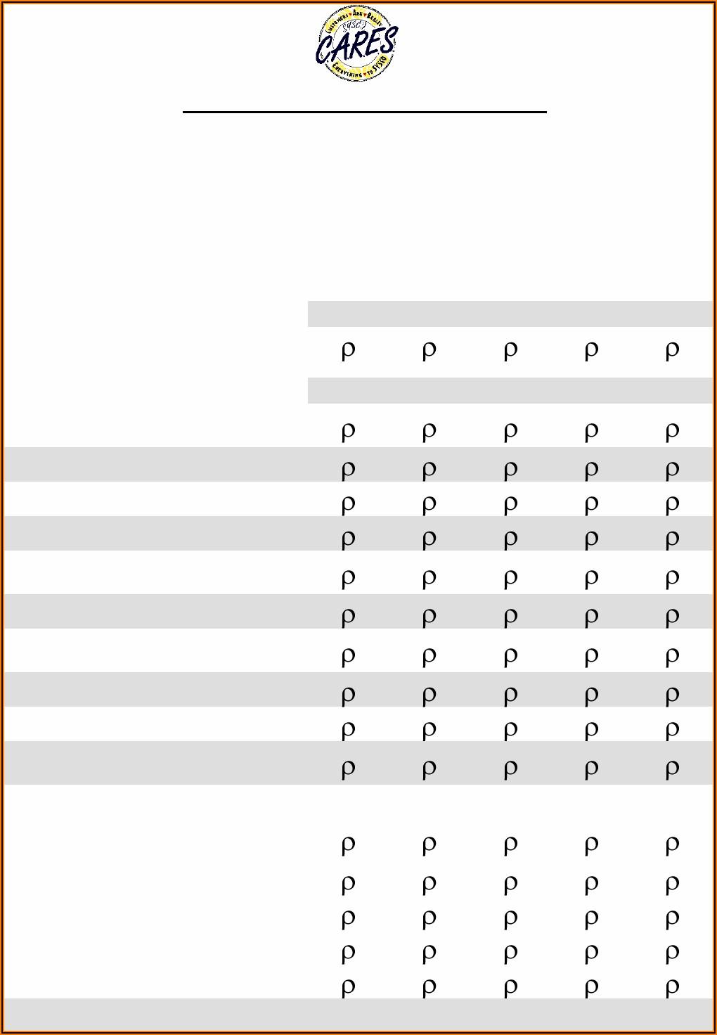 Customer Satisfaction Survey Form Word