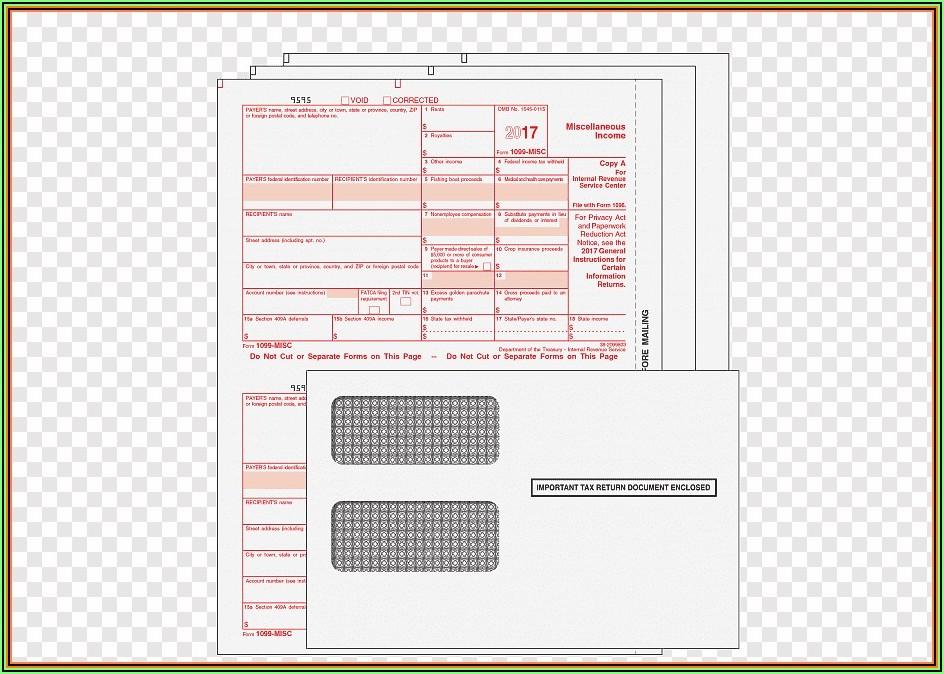 Deadline For Sending 1099 Forms