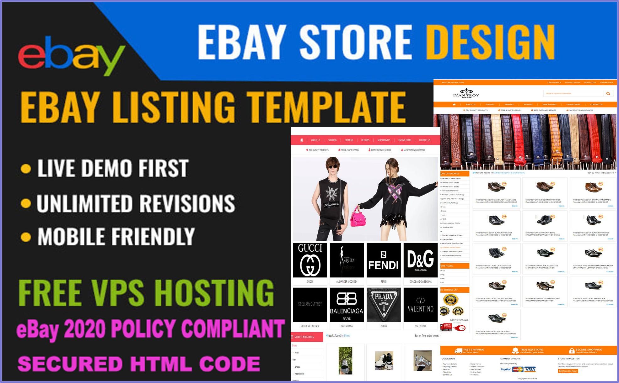 Ebay Responsive Listing Template