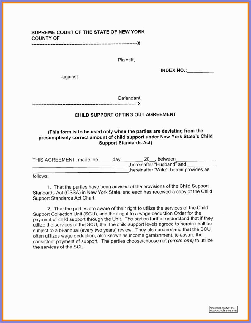 Emergency Child Custody Forms Nc