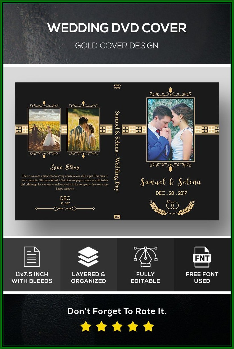 Floral Wedding Invitation After Effects Template Free Download