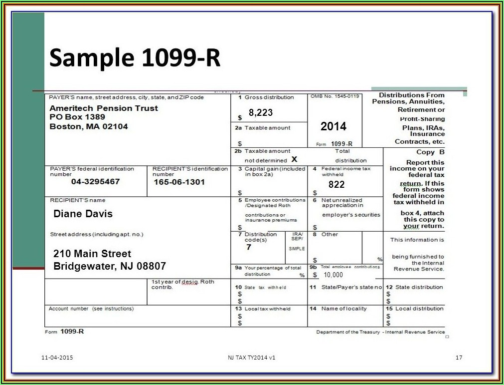 Form 1099 Misc Instructions 2019