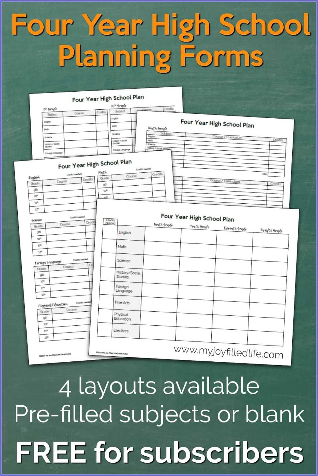 Free Homeschool Record Keeping Forms
