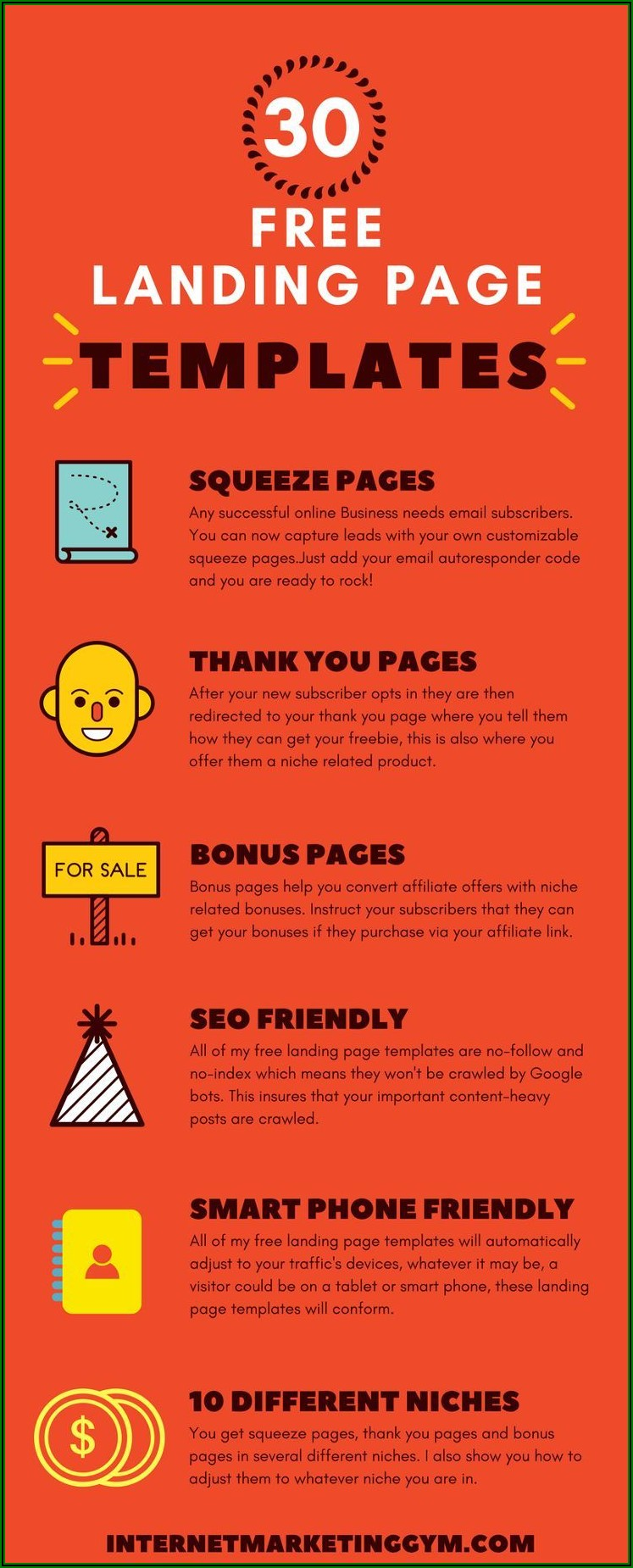 Free Html Squeeze Page Templates