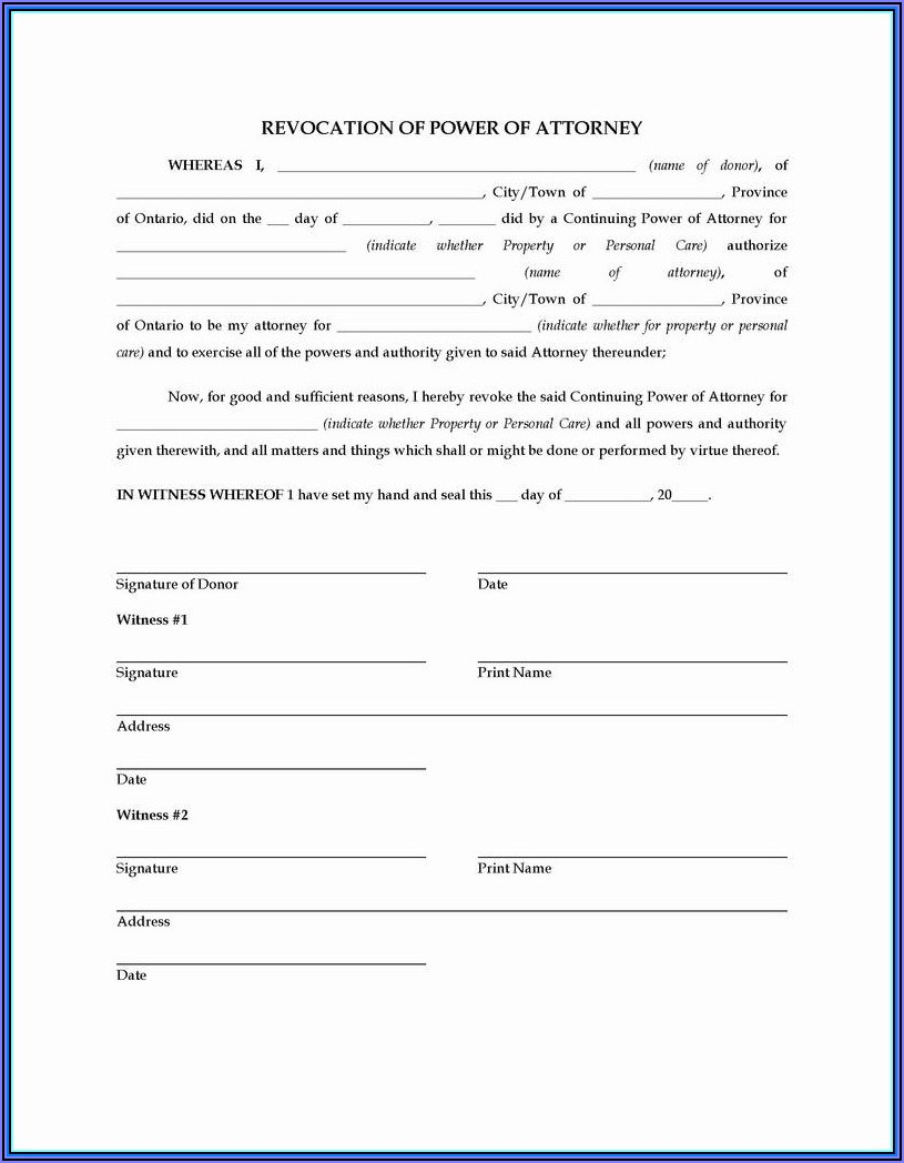 Free Irrevocable Trust Forms
