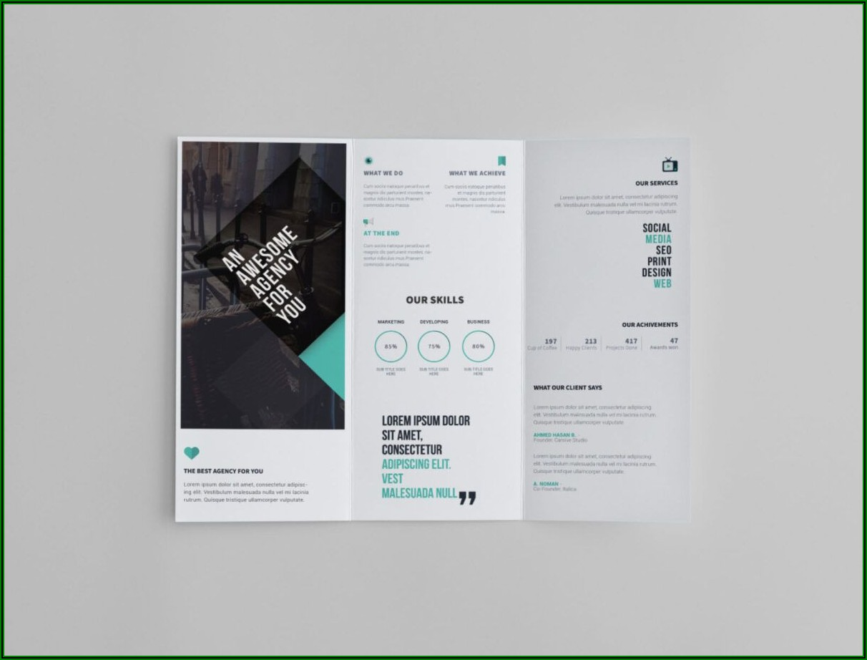 Free Online Tri Fold Brochure Template