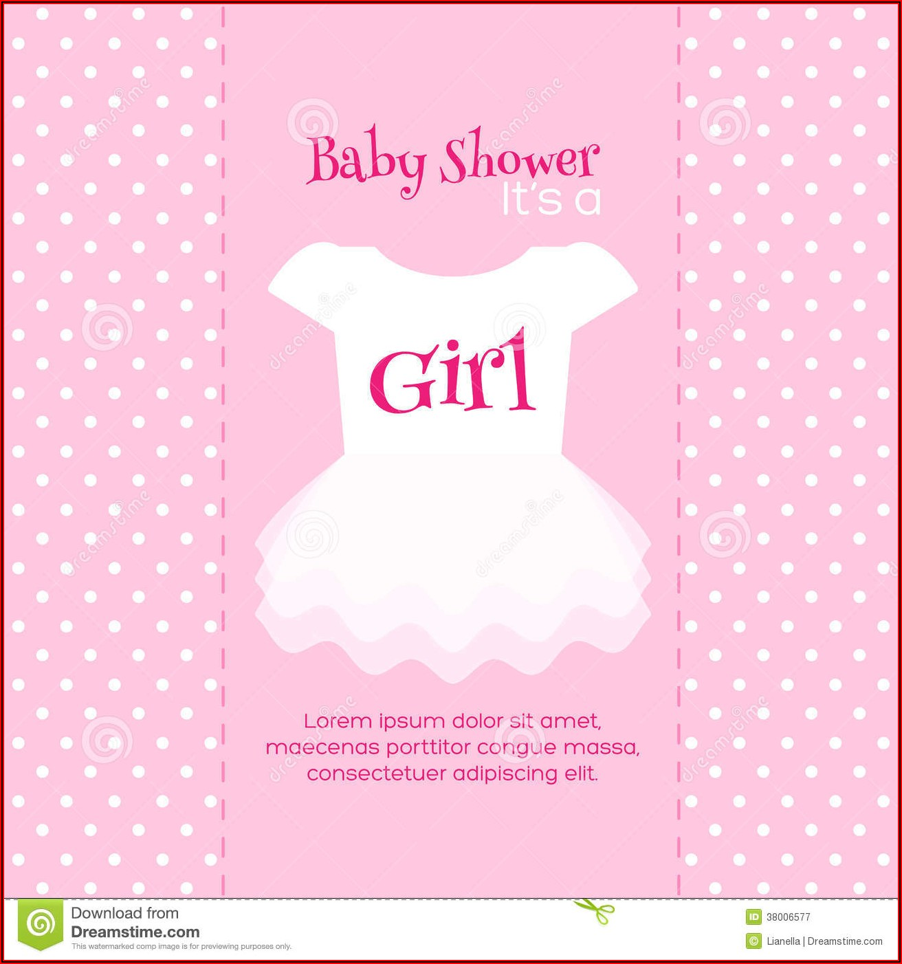 Free Printable Baby Shower Invitation Templates For A Girl