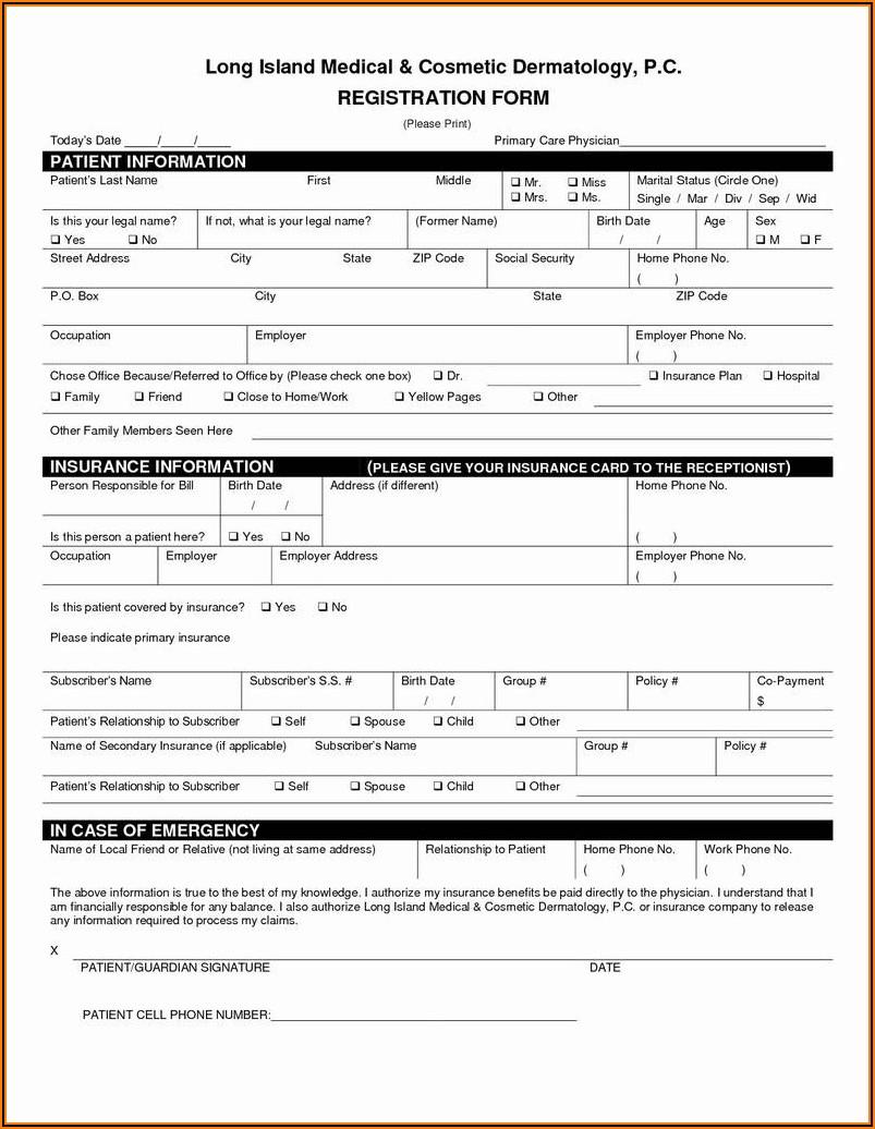 Free Printable Custody Forms