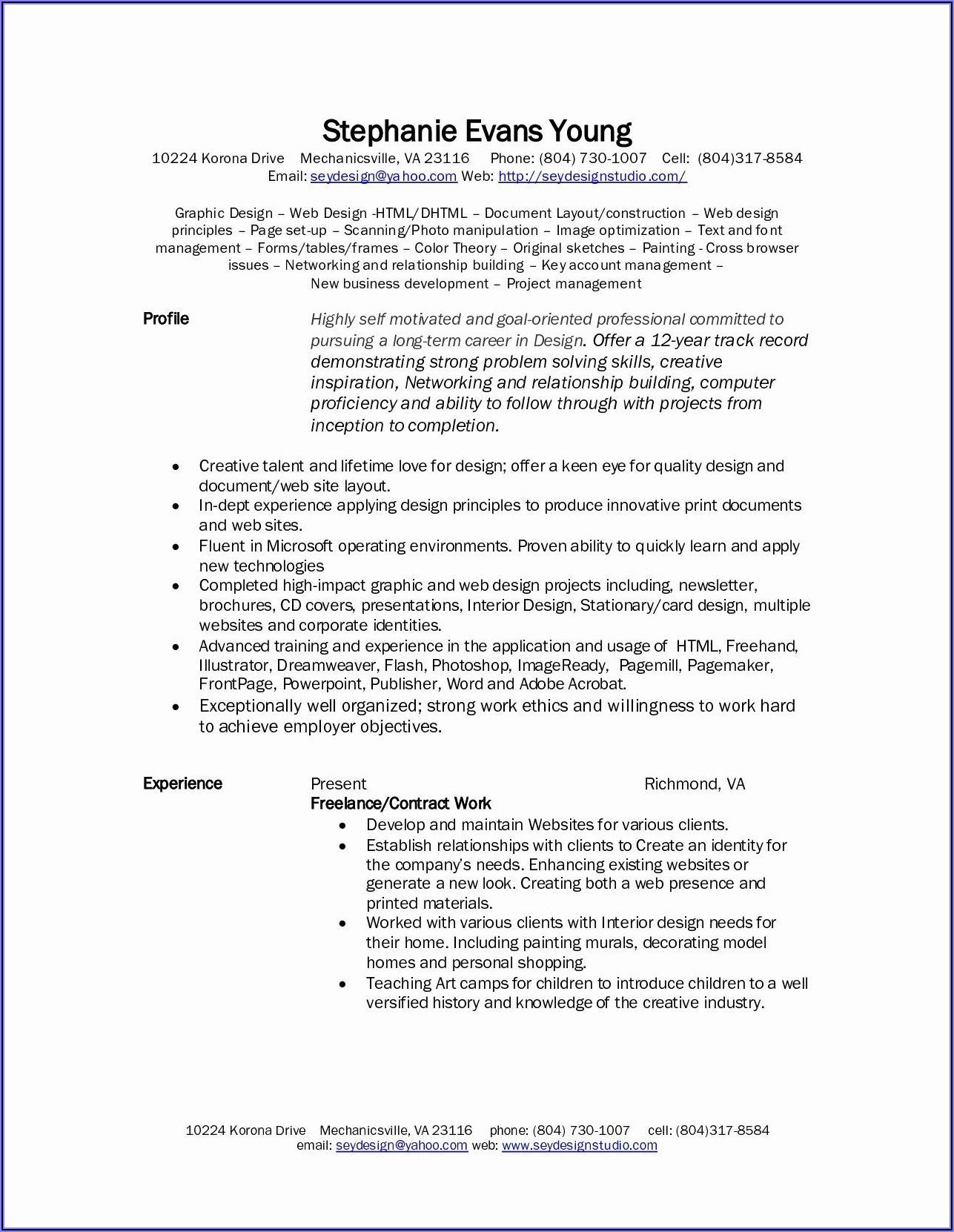 Freelance Developer Contract Template