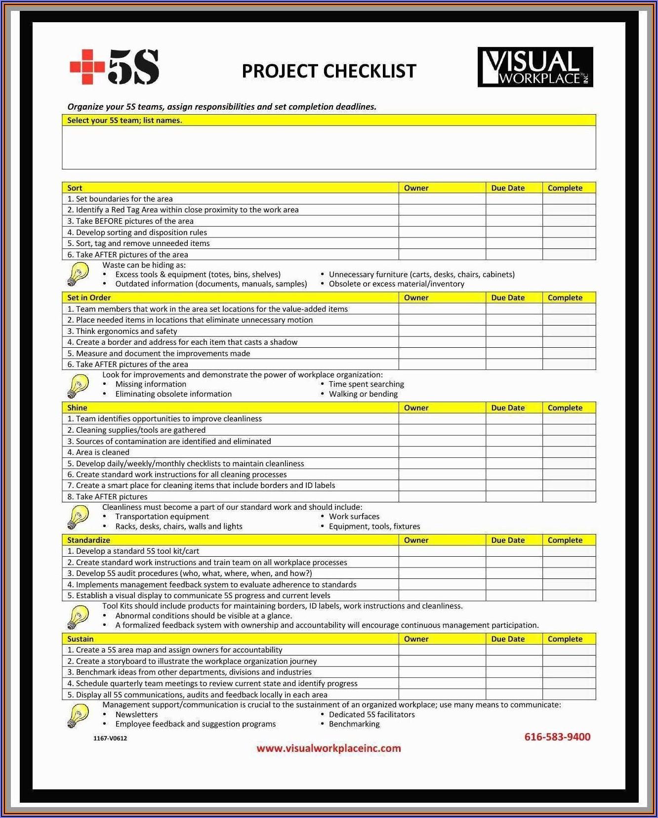 Home Inspector Checklist Template