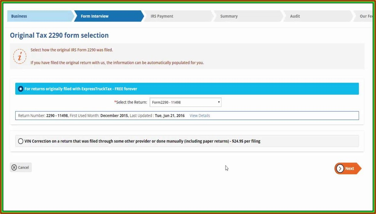 How To File Irs Form 8379 Electronically