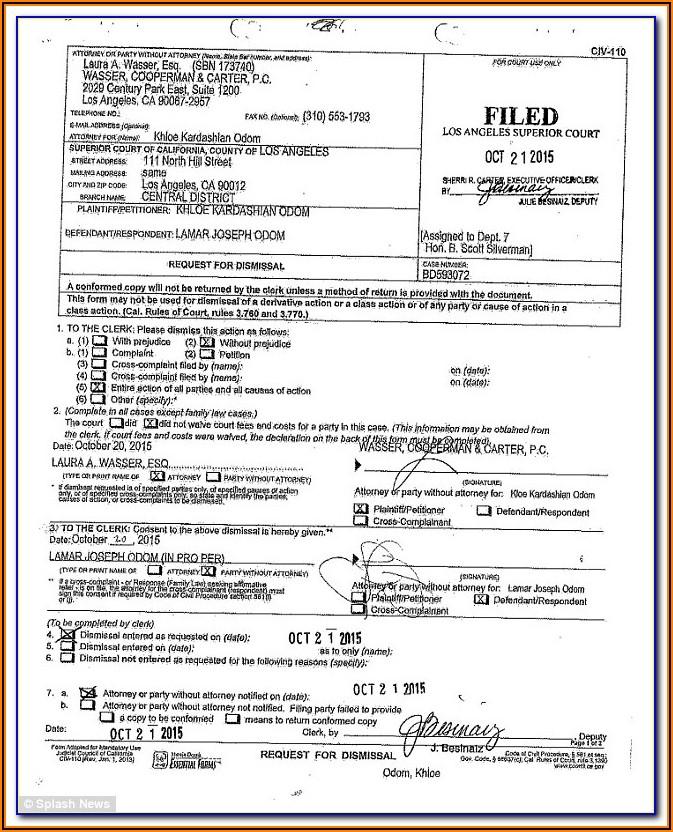 Los Angeles Divorce Forms
