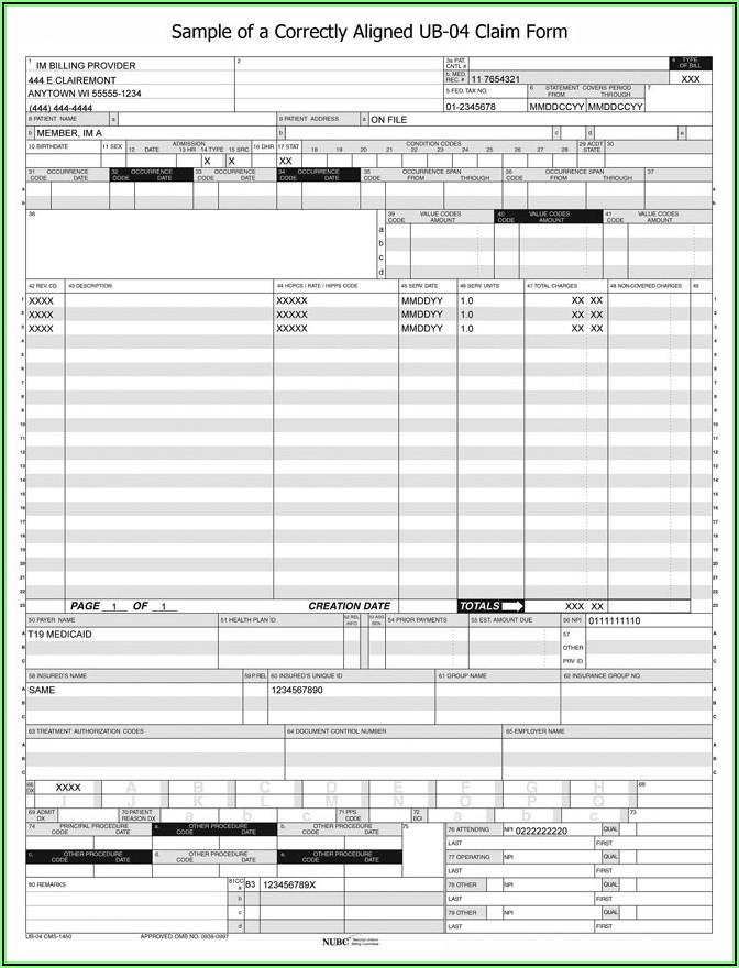 Medicare Crossover Claim Form