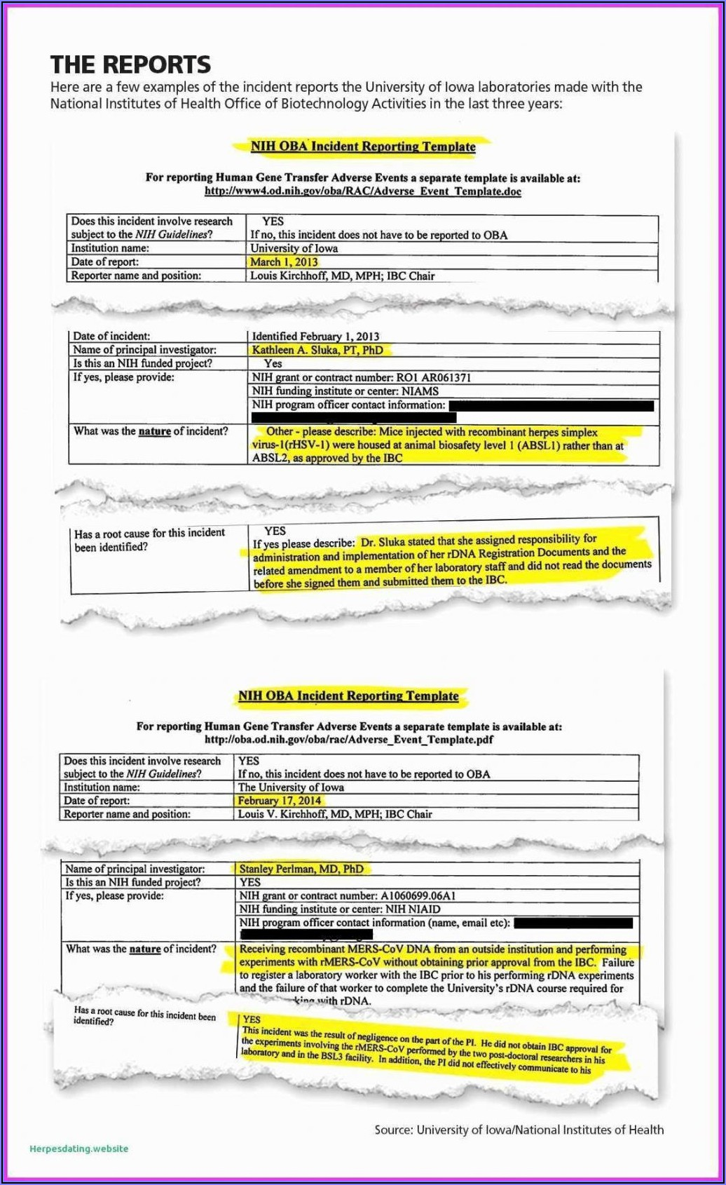 Mileage Expense Report Template Free