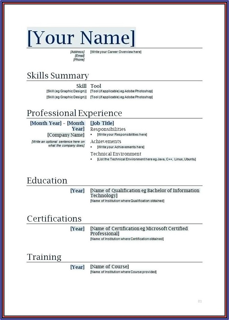 Onboarding Document Sample