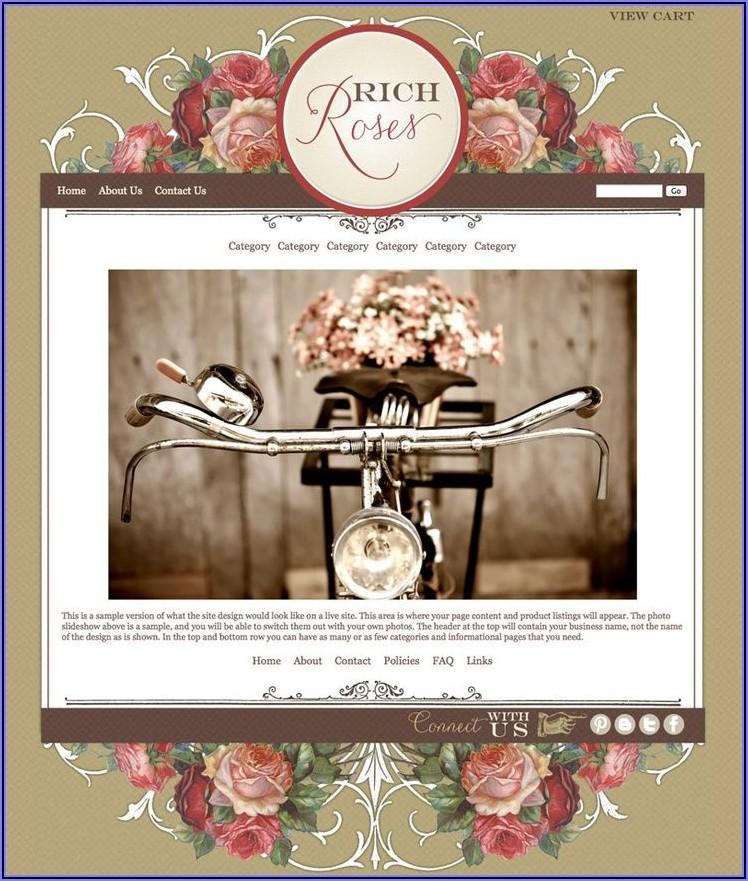 Online Boutique Website Templates