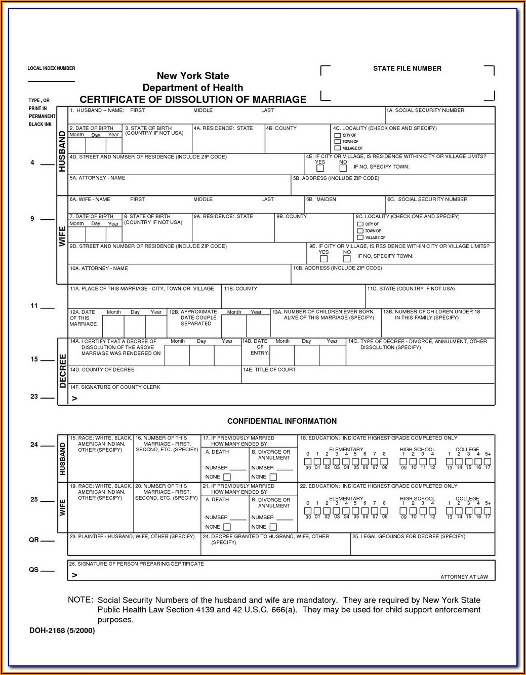 Ontario Divorce Forms Online