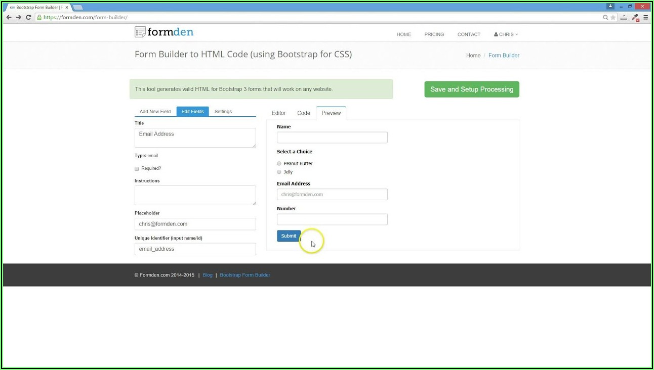 Php Form Creator Software
