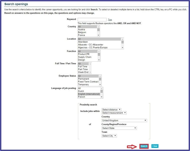 Primark.co.uk Job Application Form