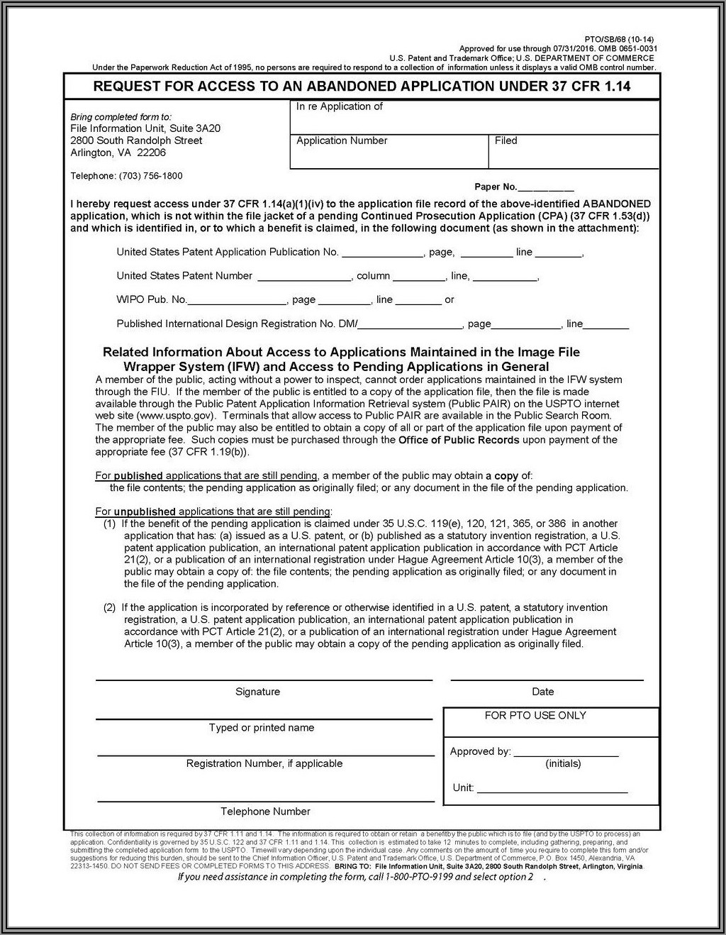Provisional Patent Specification Template