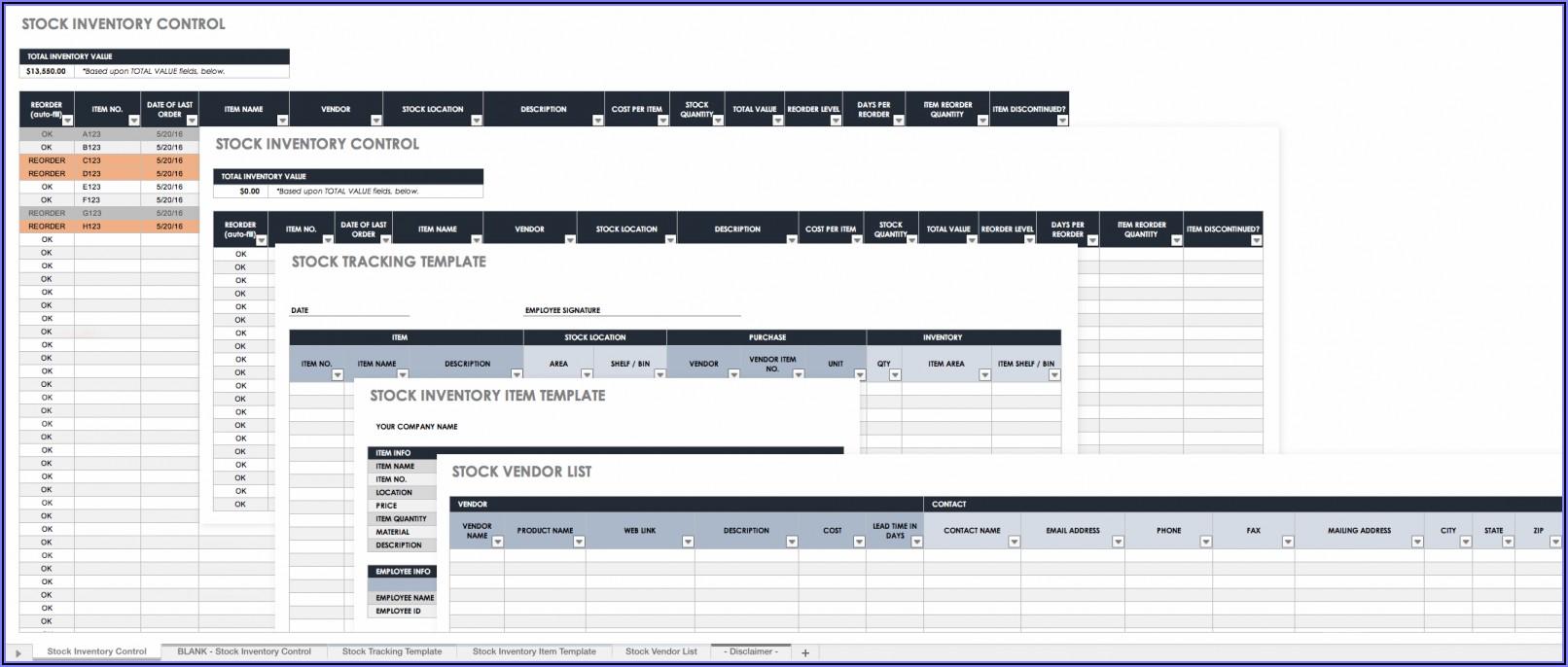 Restaurant Management Excel Templates