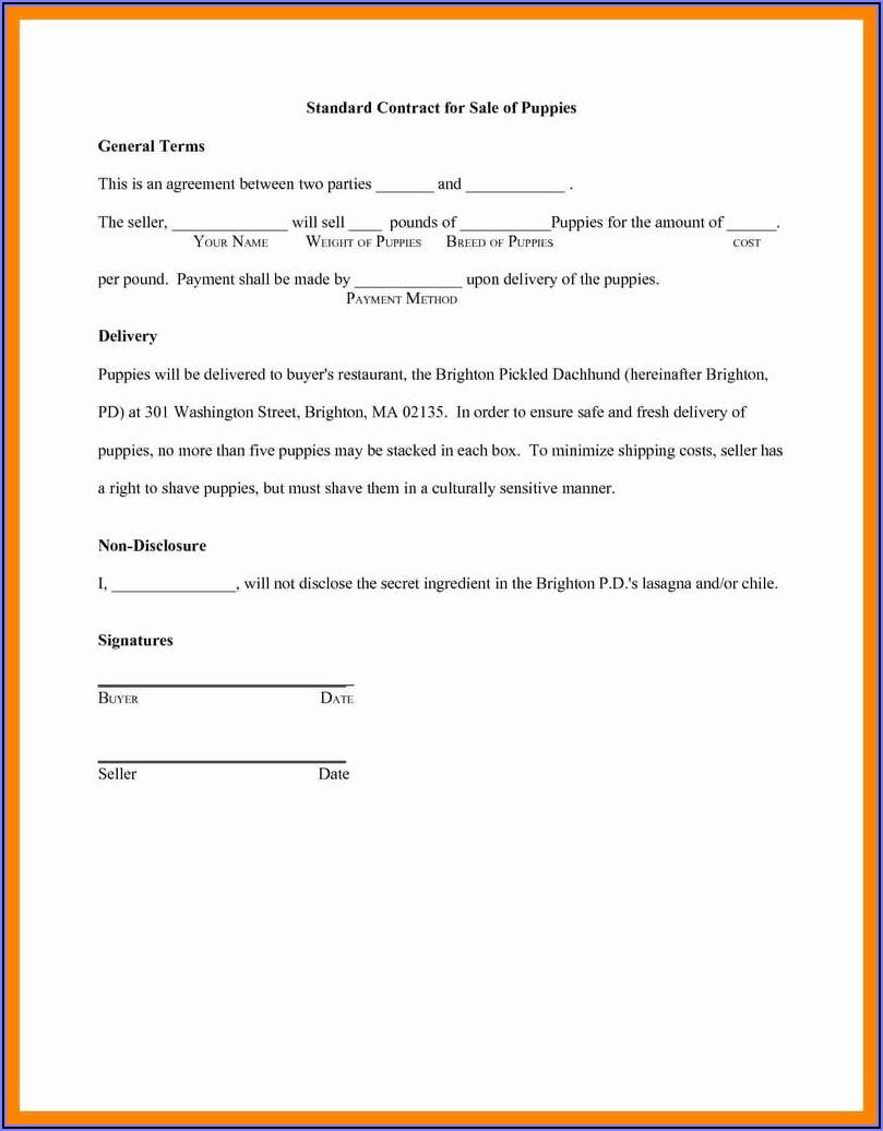 Sample Loan Estimate Form