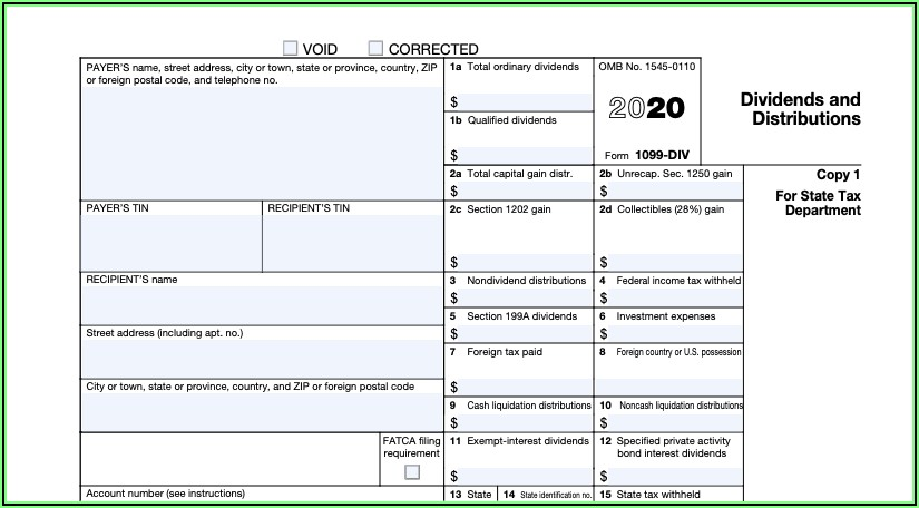 Sending 1099 Forms To Irs