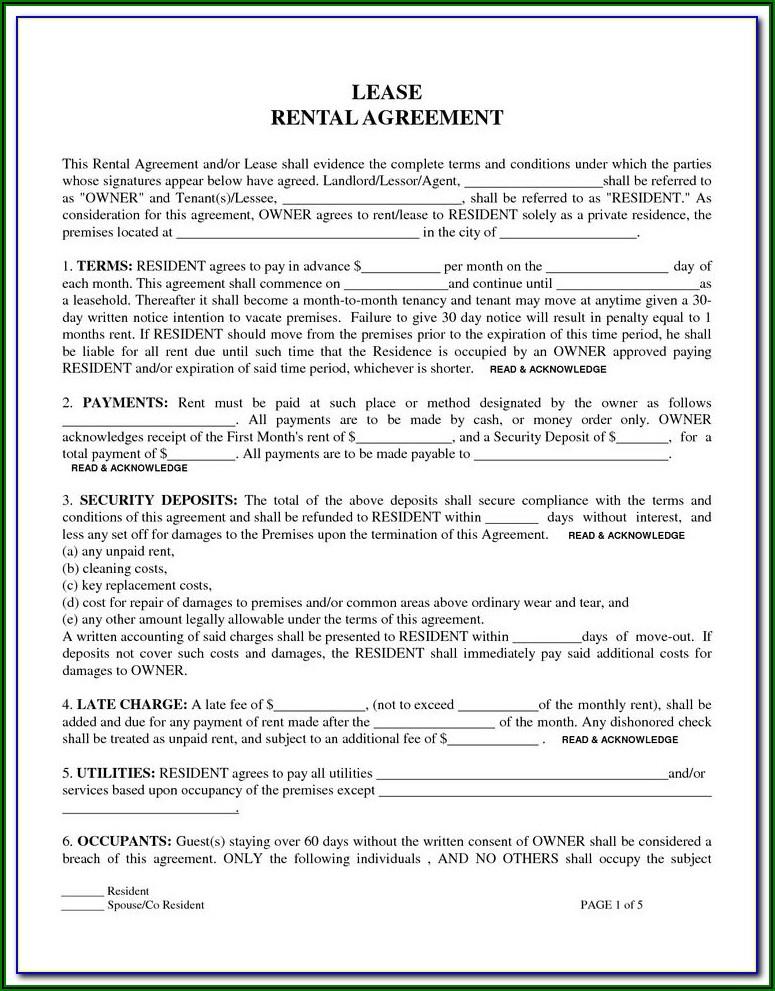 Storage Rental Agreement Template Uk